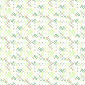 Colorful Seamless Diagonal Square Pattern Background - Abstract Geometrical Vector Design With Squar poster