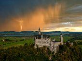 Landscape With Neuschwanstein Castle