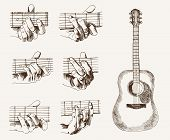 guitar and chords