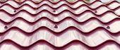 Purple Metal Tile Roof