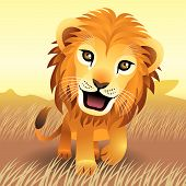 Baby Animal Collection: Lion poster