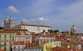 lisbon, panoramic view