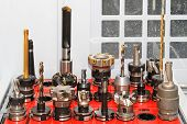 picture of drill bit  - Collection of milling and drilling tools for CNC machine - JPG