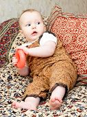 Infant With Red Torus