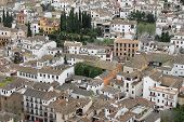 Houses In Albaicin, Granada, Spain