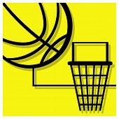 Basketball Pictogram