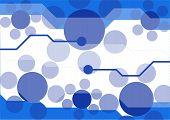Blue-white Background