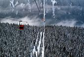 Gondolas In The Rockies