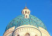 Dach der orthodoxen Kirche In Petersburg