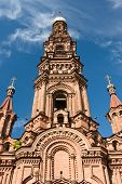 pic of epiphany  - the bell tower of the Epiphany church in Kazan - JPG