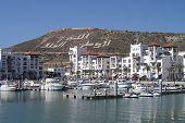 Agadir harbour marina