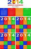 Calendar 2014 Spanish