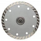 Circular saw blade. Disk for stone cutting work.