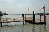 A Pontoon at Chao Phraya River