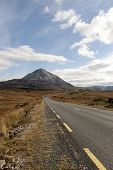 Road To The Errigal Mountains