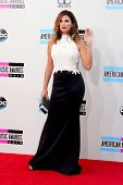 LOS ANGELES - NOV 24:  Daisy Fuentes at the 2013 American Music Awards Arrivals at Nokia Theater on