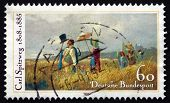 Postage Stamp Germany 1985 The Sunday Walk, By Carl Spitzweg