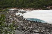 pic of taimyr  - The ice - JPG