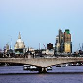 London Skyline, Waterloo Bridge