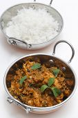 stock photo of fenugreek  - Methi murgh  - JPG
