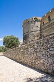 City walls. Castro. Puglia. Italy.