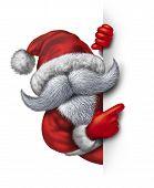 Santa Claus Fun Sign
