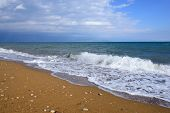 pic of velika  - Blue Flag beautiful beach of Velika Greece - JPG