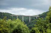 Highway Bridge In Germany