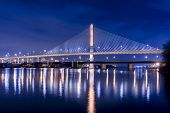 pic of skyway bridge  - Night view of the Veterans - JPG
