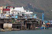 Fishing Village in Hong Kong