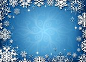 pic of sleet  - Christmas frame - JPG