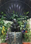 Jeanneke Pis Statue In Brussels.