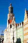 St Elisabeth's Church, Main Market Square, Wroclaw, Silesia, Poland