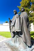 statue of Saints Cyril and Methodius, Nitra, Slovakia