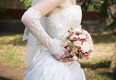Luxurious Bouquet In Bride's Hand
