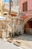 Rimondi Fountain. Rethymno. Crete, Greece