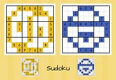 Unique sudoku set