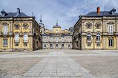 stock photo of royal palace  - Royal Palace La granja de san ildefonso Segovia Spain - JPG