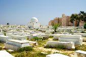 Arabic Cemetery Next To Ribat In Monastir, Tunisia