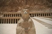 stock photo of hatshepsut  - Hatshepsut temple at west bank of Luxor - JPG