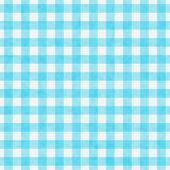 Bright Teal Gingham Pattern Repeat Background
