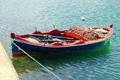 Boat Near Fort Of Bizerte, Tunisia