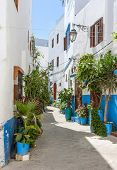 stock photo of asilah  - in northern Morocco there is a beautiful town called asilah - JPG