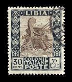 Libya stamp 1921