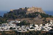 Greek Islands Lindos Castle