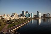 Skyline Of Sharjah City