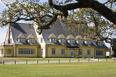 image of whalehead club  - The historic Whalehead club in Corolla on the Outer Banks of North Carolina has been restored to its original grandeur and is now a museum for the area - JPG