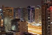 Highrise Buildings In Dubai