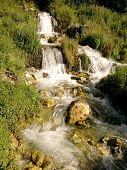 waterfall river Zepa