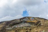 Prayer Mountain Of Lharong Monastery